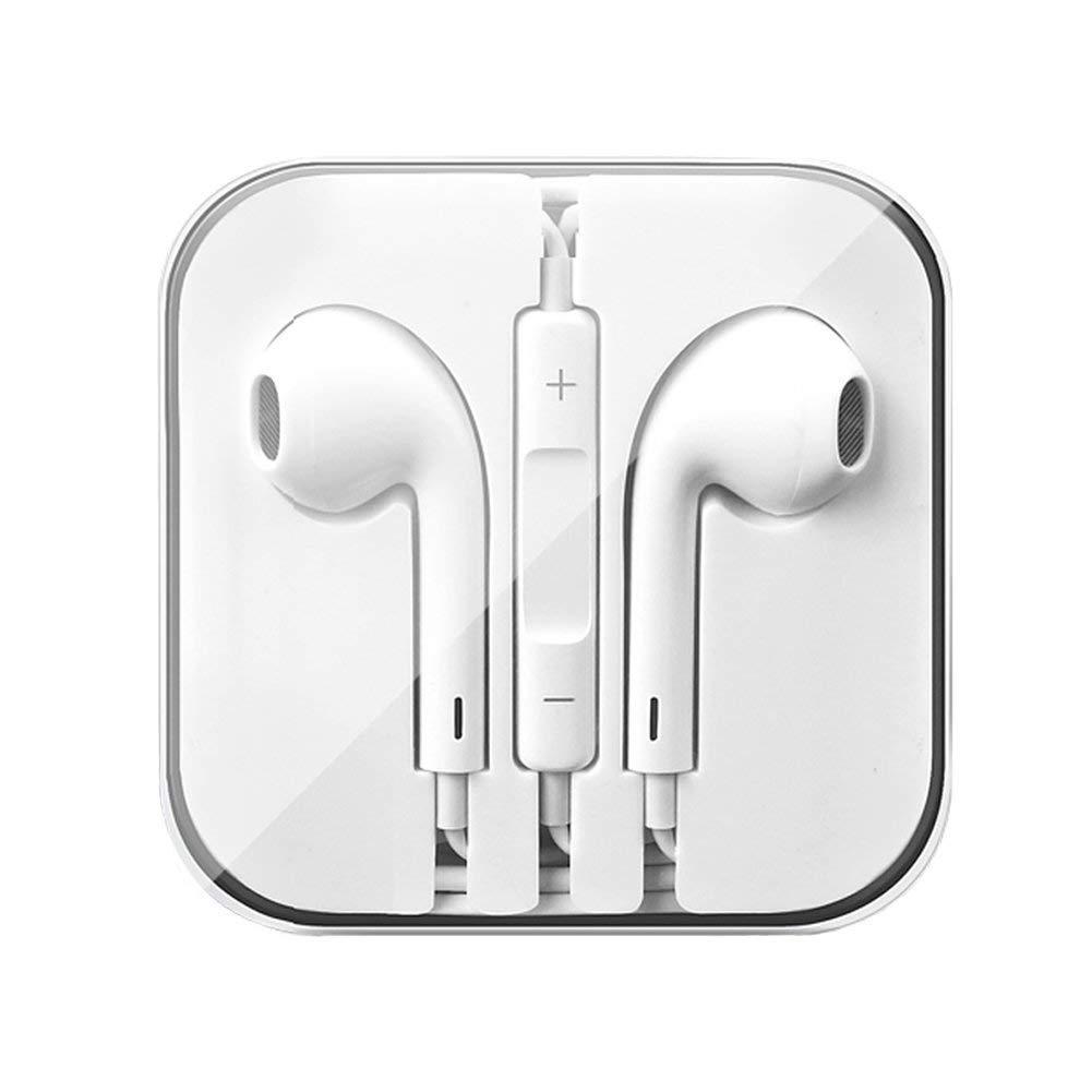 Auriculares In-Ear Auriculares con microfono 2 Pack Android Cancelaci/ón de Ruido Auriculares Compatible con iOS Amzuun