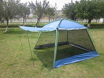 Gazebo/Double Layer Beach/C&ing Canopy Tent Sun Shield UV Awning Recreational Outdoor Anti & Amazon.com: Gazebo/Double Layer Beach/Camping Canopy Tent Sun ...