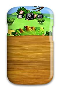 Ortiz Bland Galaxy S3 Hybrid Tpu Case Cover Silicon Bumper Awesome Cute Cartoon