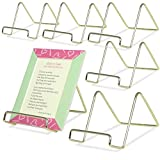 Wire Easel Display Stand Plate Holders - Smooth