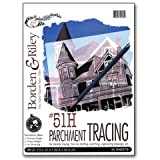 Borden & Riley - #51H Monroe Heavyweight Parchment Tracing Paper Pad - 9'' x 12''
