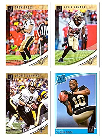 Amazon.com  2018 Donruss Football Team Set - NEW ORLEANS SAINTS   Collectibles   Fine Art 62767513b
