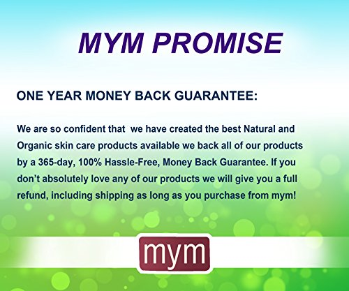 The Best Eye Serum 100% Natural Anti-aging for Wrinkles, Dark Circles, Puffiness, Eye Bags and Crow's Feet with Oligopeptides, Matrixyl 3000 Peptides + Micronized Collagen. Made in USA by MyM (Image #5)