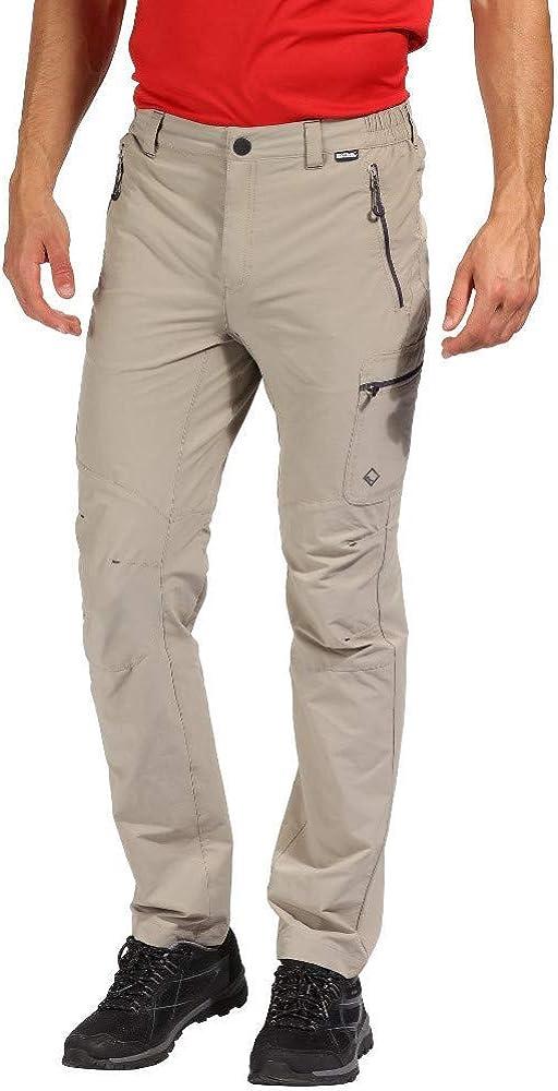 Regatta Mens Highton Water Repellent Multi Pocket Active Hiking Trousers
