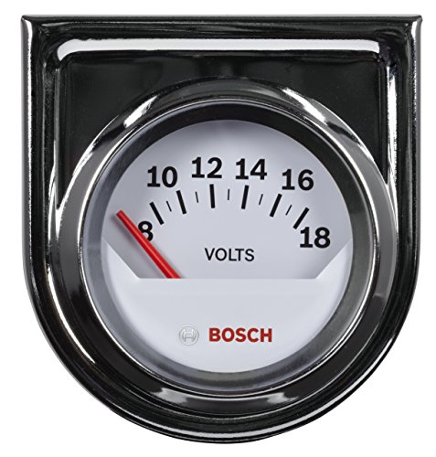Gauge White Dial - Bosch SP0F000043 Style Line 2