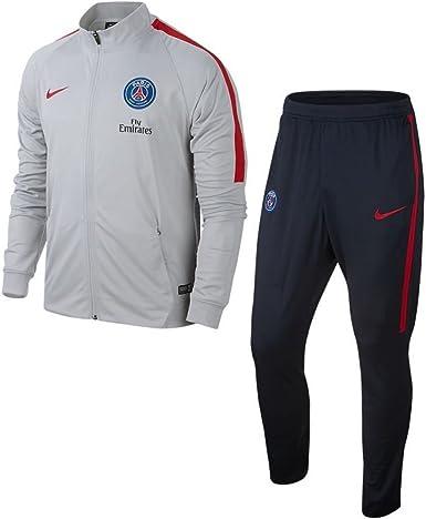 Adicto tonto Armada  NIKE PSG Y Nk Dry Sqd TRK Suit K Chándal París Saint-Germain FC, Hombre:  Amazon.es: Ropa y accesorios