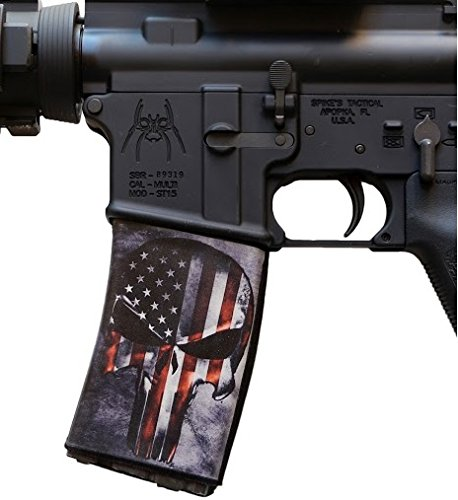 ultimate-arms-gear-2-pack-of-ar-mag-cover-socs-for-30-40rd-polymer-pmag-mags-punisher-with-american-
