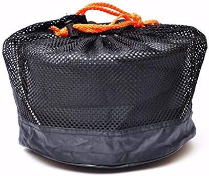 ACHICOO Pique-Nique de Camping en Plein air Pot de Cuisson en Alliage d'aluminium Pot Suspendu pour 5-8 Personnes cuisinière de Camping