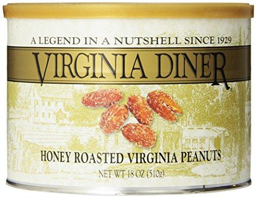 Virginia Diner Honey Roasted Peanuts, 18-Ounce