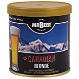 Mr. Beer Canadian Blonde Craft Beer Refill Kit, Contains Hopped Malt Extract Designed for Consistent, Simple and Efficient Homebrewing, 2 Gallon