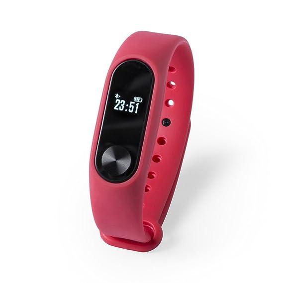 Pulsera Inteligente para Deportes Reloj Inteligente BEYTEL-Recargable-Bluetooth-Pulsera Actividad-Smart Watch-Smart Band con conexión Bluetooth comuniones o ...