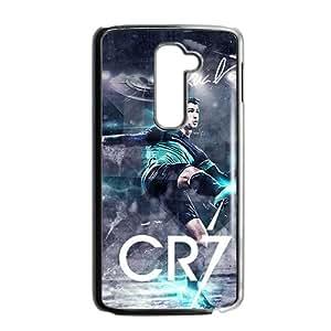 Hansome Cristiano Ronaldo Pattern Plastic Case For LG G2