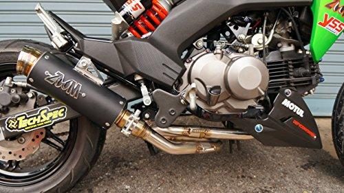 ZoOM Exhaust Kawasaki Z125 Pro Z 125 Pro 2017-2019 Full System Black 2SLZ -