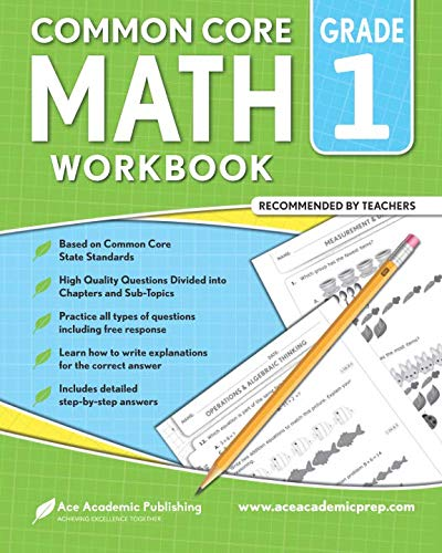 1st grade Math workbook: CommonCore Math Workbook (Daily Math Practice Grade 1)
