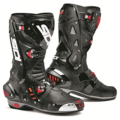 Sidi Vortice Air Motorcycle Boots Black US9.5/EU43 (More Size Options)
