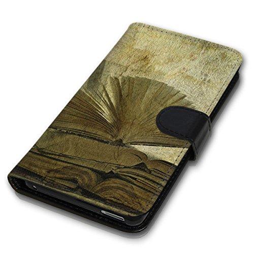 Wallet Book Style Flip Handy Tasche Case Schutz Hülle Schale Motiv Etui für Apple iPhone 5 / 5S - Design Flip MV264