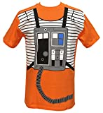 Star Wars I Am Luke Skywalker Flight Suit Mighty Fine Adult T-Shirt Tee Medium