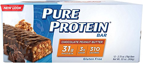 Pure Protein High Protein Bar, 32 Grams of Protein, Chocolate Deluxe, 2.75 Oz, 12 Ct. 3 by Pure Protein P