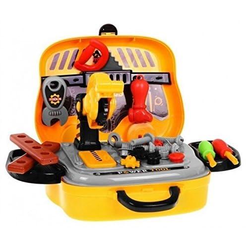 Jeu d'Imitation - Outils de jouets établi pour Enfants dans la Valise
