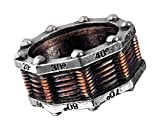 Hi Voltage Generator Steampunk Ring Picture