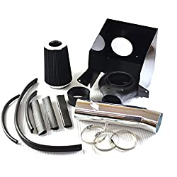 Perfit formance Cold Air Intake Kit With Filter fit for Dodge 1994-2001 Ram 1500 & 1994-2002 Ram 2500 V8 (Black)