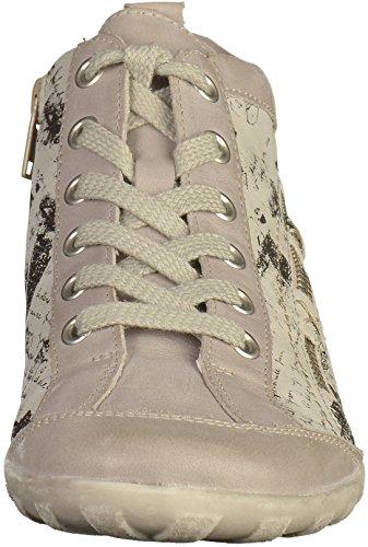 Remonte Kvinnor Boots Beige, (is / Is / Svart) R3483-80 Grå