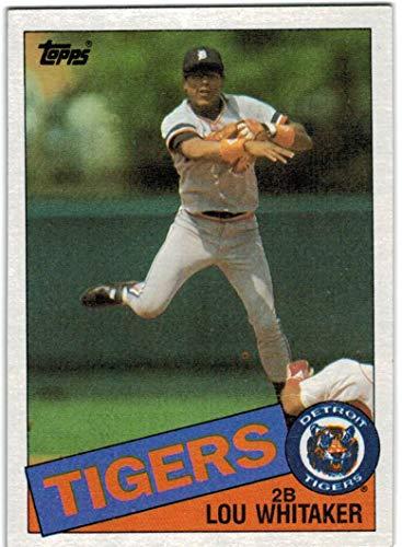 1985 Topps Detroit Tigers Team Set with Alan Trammel /& Jack Morris 30 MLB Cards