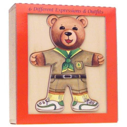 Ernest Moody Bear 18-piece Jigsaw Puzzle