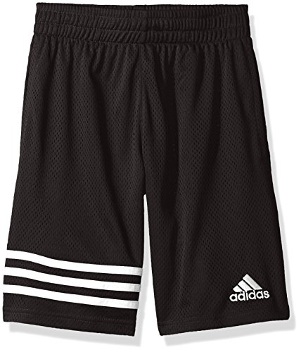 Adidas Youth Basketball Short - adidas Big Boys' Athletic Short, Defender Caviar Black, L