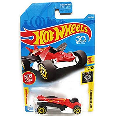 Hot Wheels 2020 50th Anniversary Experimotors Airuption 200/365, Red and White: Toys & Games