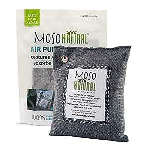 Moso Natural Air Purifying Bag Odor Eliminator Odor