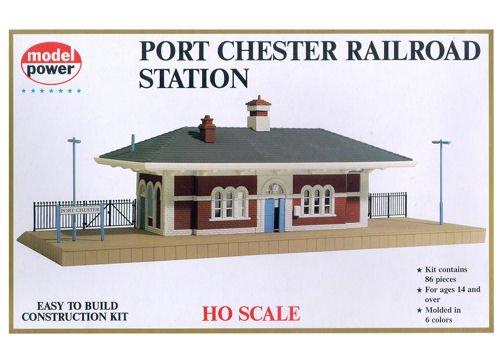 (Model Power 542 HO KIT PORT CHESTER RR STATION)