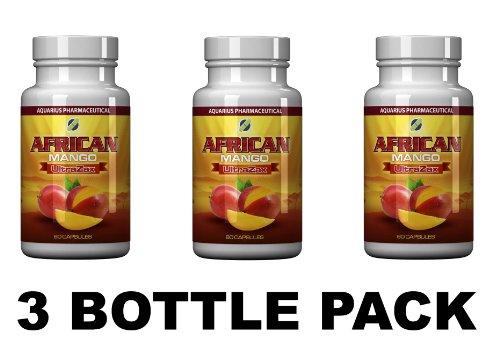 Système africaine Mango UltraZax Extreme de perte de poids (3 Pack Bouteille)