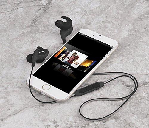 - Altec Lansing Wireless Bluetooth Earbuds Waterproof Sweatproof Adjustable in-Ear Earbud Headphones with 30 ft Wireless Range, and On Board Microphone, Black (Non-Retail Packaging)