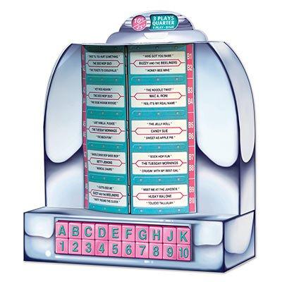 (Beistle 54804 Tabletop Jukebox, 131/4-Inch (Value 3-Pack))