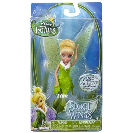 Disney Fairies Secret of the Wings Pixie Sparkle Collection Action Figure Tink