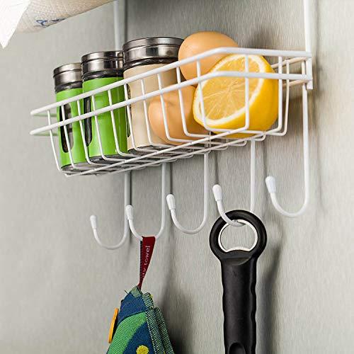 Abilieauty Multilayer Kitchen Storage Hanger Iron Refrigerator Side Shelf Rack Oganizer Tool