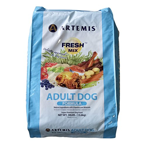 ARTEMIS 133023 Fresh Mix Adult Dogs Food, 30-Pound by Artemis