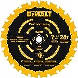 DEWALT DW3599B10 Ultra Thin Kerf 7-1/4-Inch 24 Tooth Framing Blade