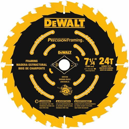 7-1/4 Carbide Saw Blade Combo Pack