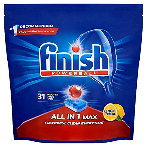 Amazon.com : Finish All In One Max Lemon (31 Piece) : Grocery ...