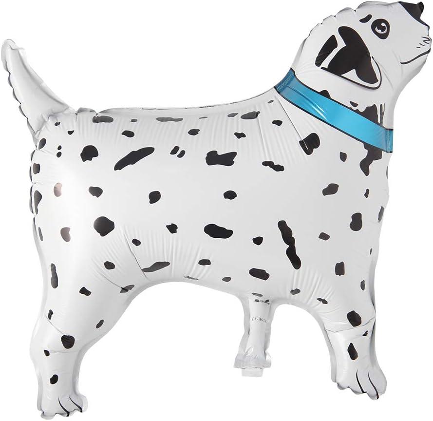 White Dalmatians Dog Foil Balloons Cartoon Animal Dog Theme Party Supplies Inflatable Globos Birthday Party Decorations Kids Dalmatians