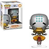 Funko Zenyatta: Overwatch x POP! Games Vinyl Figure & 1 PET Plastic Graphical Protector Bundle [#305 / 29052 - B]