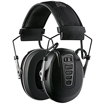 Browning Cadence Auriculares Anti Ruido, Unisex Adulto, Negro, Talla Única