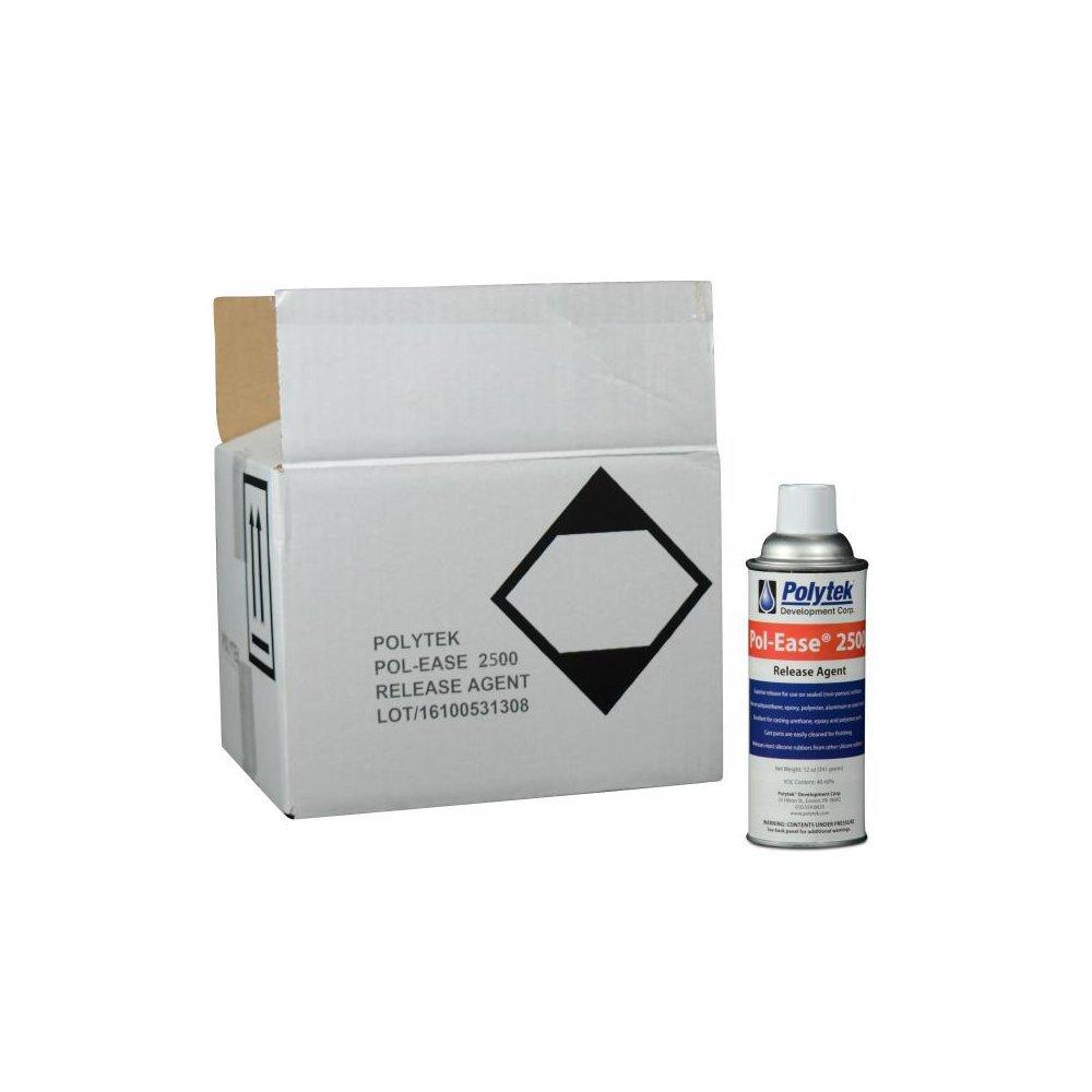Polytek Pol-Ease2500 Release Agent (Case of 12 cans)