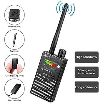 Amazon com : Eilimy Anti-Spy Wireless RF Signal Detector [2019