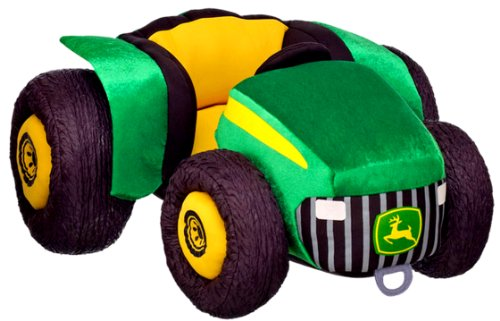 Build a Bear John Deere Farm Tractor 21 inch Teddy Size JD Farmers Market Collection Large Stuffed Plush Toy - Farmer Teddy Bear
