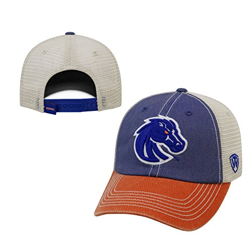 NCAA Boise State Broncos Offroad Snapback Mesh Back Adjustable Hat, One Size, - Boise Hat State
