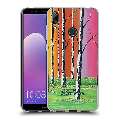 n Caledonian Forest Nature Soft Gel Case for Huawei Y7 (2019) ()