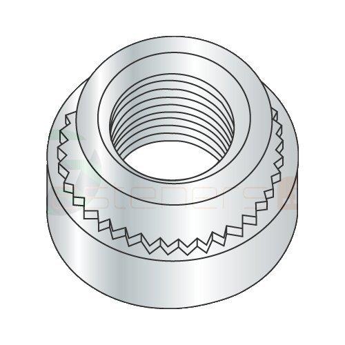 10-32-3 Self Clinching Nuts/Steel/Zinc/Shank Height: .087''/Sheet Thickness: .091'' (Carton: 5,000 pcs) by Newport Fasteners